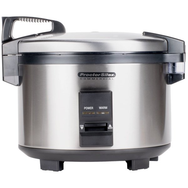 Proctor Silex 37540 40 Cup (20 Cup Raw) Rice Cooker / Warmer - 120V Main Image 1