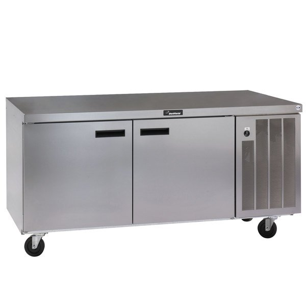 "Delfield 18672BUCMP 72"" Undercounter Refrigerator Main Image 1"