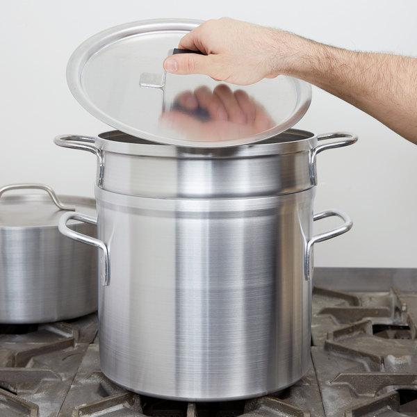 Vollrath 67711 Wear-Ever 11 Qt. Aluminum Double Boiler Set