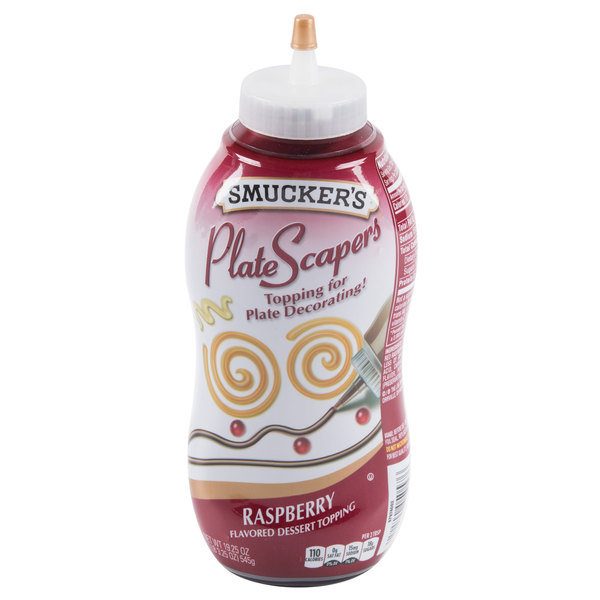 Smucker's Raspberry Platescapers 19.25 oz. Bottle