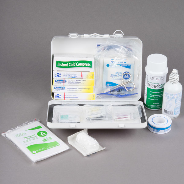 Medique 818M1 78 Piece Standard Vehicle First Aid Kit