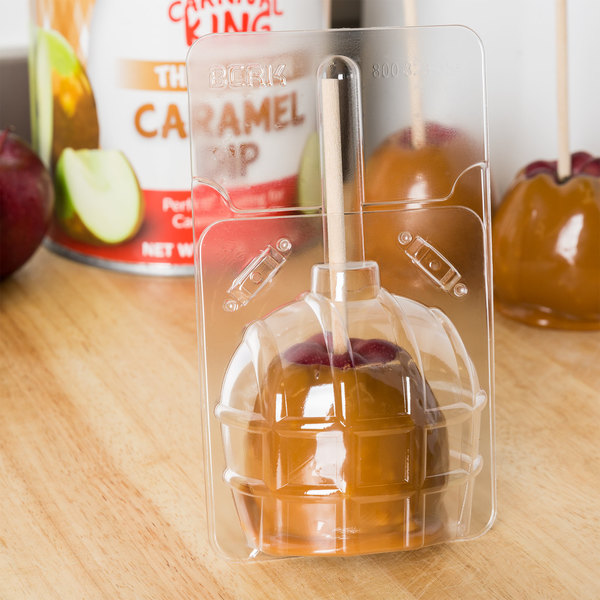 Large Disposable Candy Apple Bubble - 50/Pack