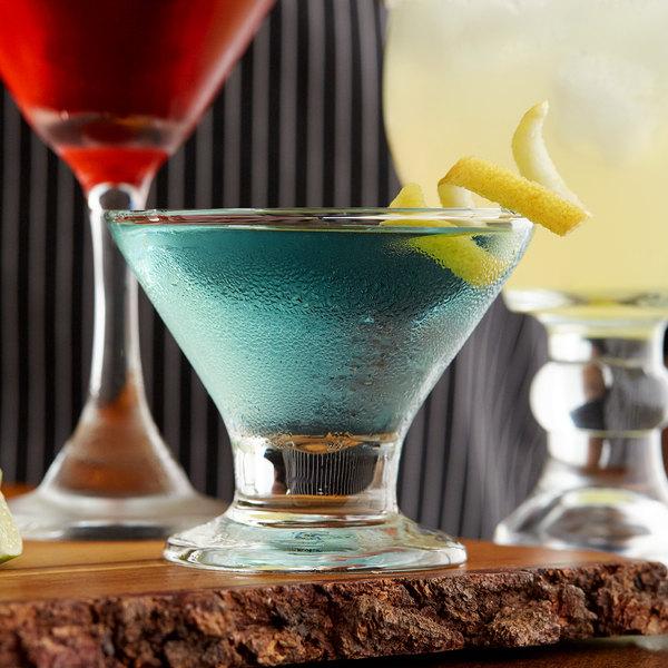Acopa 8 oz. Footed Martini / Dessert Glass - 12/Case