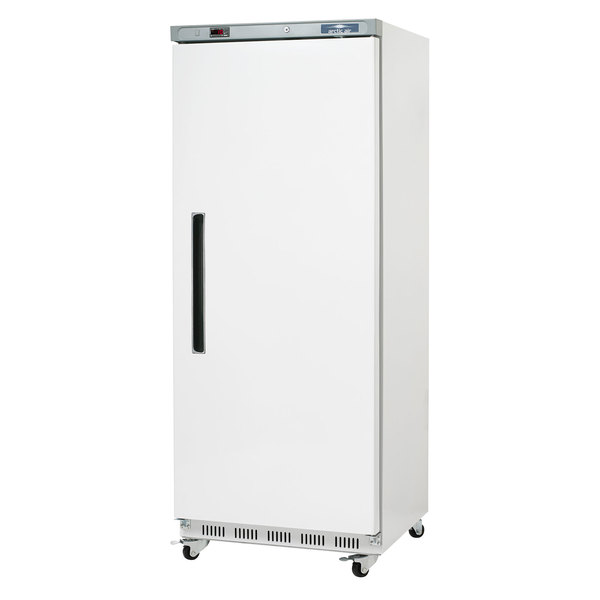 Arctic Air AWR25 White Single Door Reach In Refrigerator - 25 cu. ft.