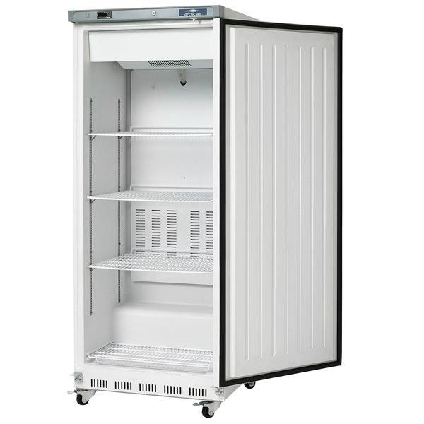 Arctic Air AWR25 White Single Door Reach In Refrigerator - 25 cu  ft