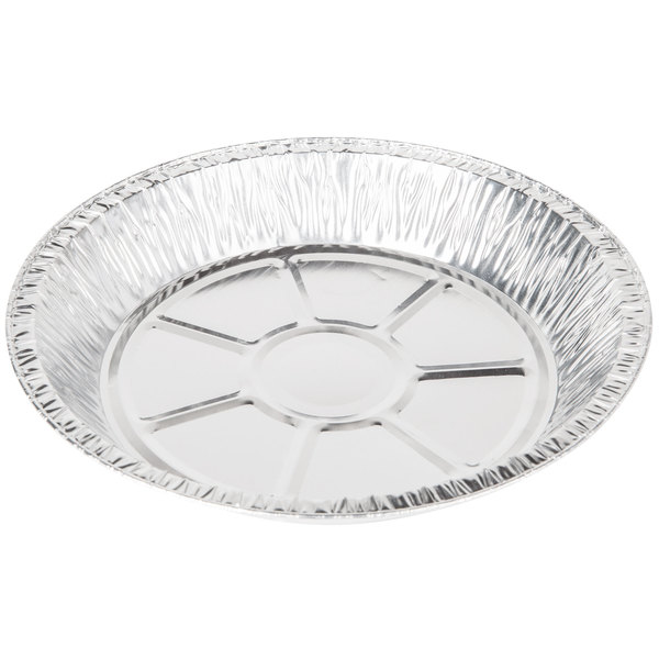 Bake perfect pies every time in this Baker\u0027s Mark 9\  x 1 3/16\  extra deep foil pie pan!  sc 1 st  WebstaurantStore & Baker\u0027s Mark 9\