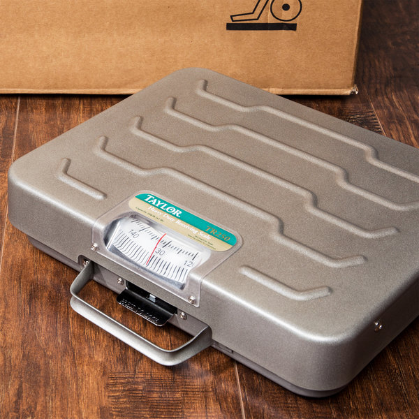 Taylor Precision TR250 250 lb. Mechanical Receiving Scale - Briefcase
