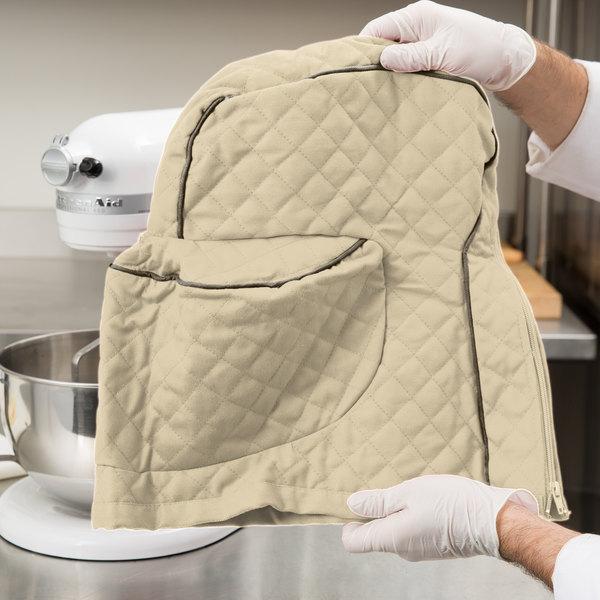 KitchenAid KSMCT1KB Khaki Fitted Cover for KSM Tilt-Head Stand Mixers