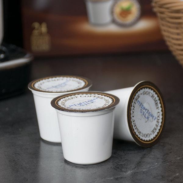 Caffe de Aroma Midnight Silk Coffee Single Serve Cups - 24/Box Main Image 4