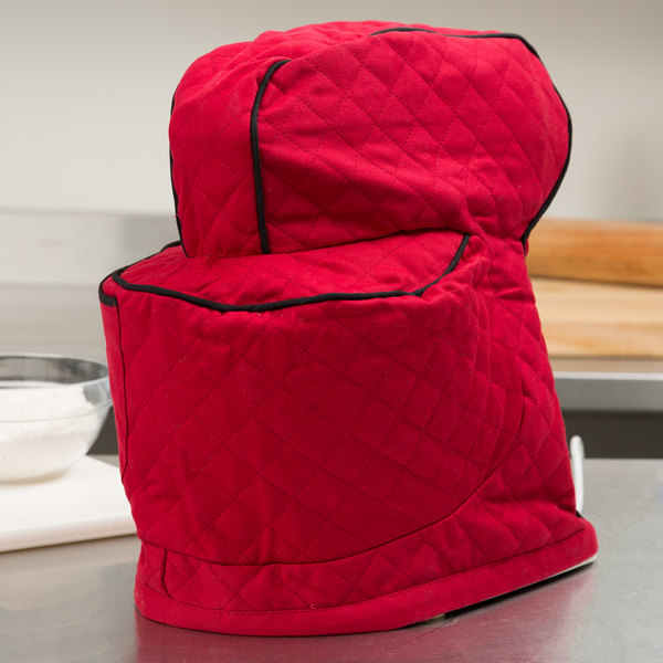 KitchenAid KSMCT1ER Empire Red Fitted Cover for KSM Tilt-Head Stand Mixers Main Image 12