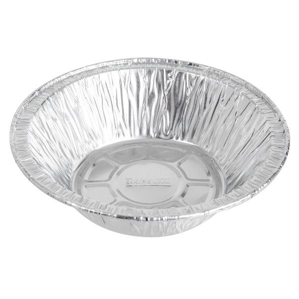 Baker's Mark 5 3/4 inch x 1 1/2 inch Deep Foil Pot Pie Pan - 1000/Case