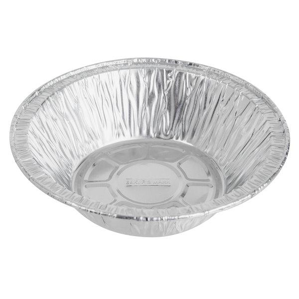 Baker's Mark 5 3/4 inch x 1 5/8 inch Deep Foil Pot Pie Pan  - 1000/Case