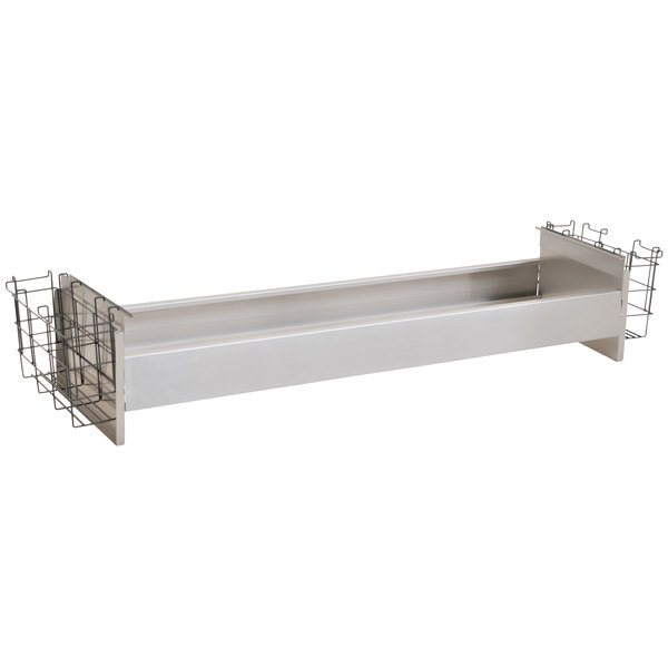 "Eagle Group BR6-48-19 Spec-Bar® 6 Bottle Rack with Divider Walls for 19"" x 48"" Ice Chests"