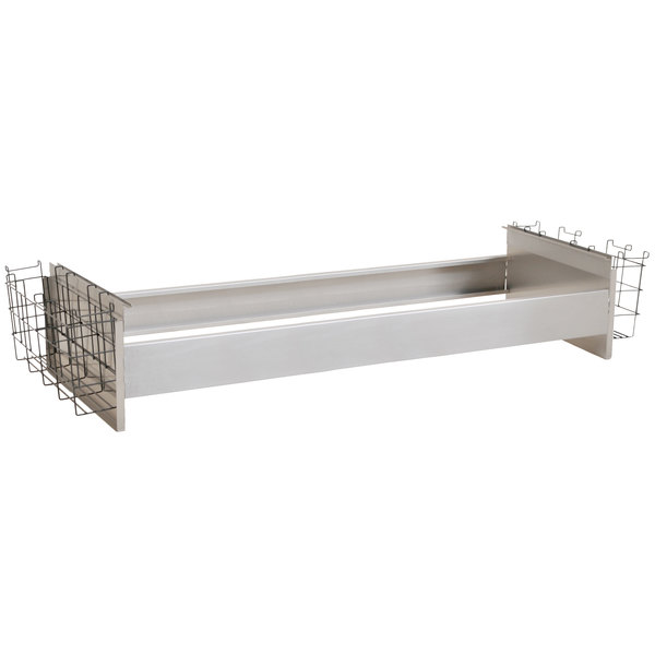 """Eagle Group BR8-48-24 Spec-Bar® 8 Bottle Rack with Divider Walls for 24"""" x 48"""" Ice Chests Main Image 1"""