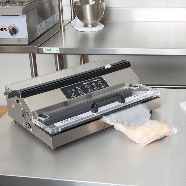 "ARY VacMaster PRO 380 Light-Duty External Vacuum Packaging Machine with 16"" Seal Bar Main Image 7"