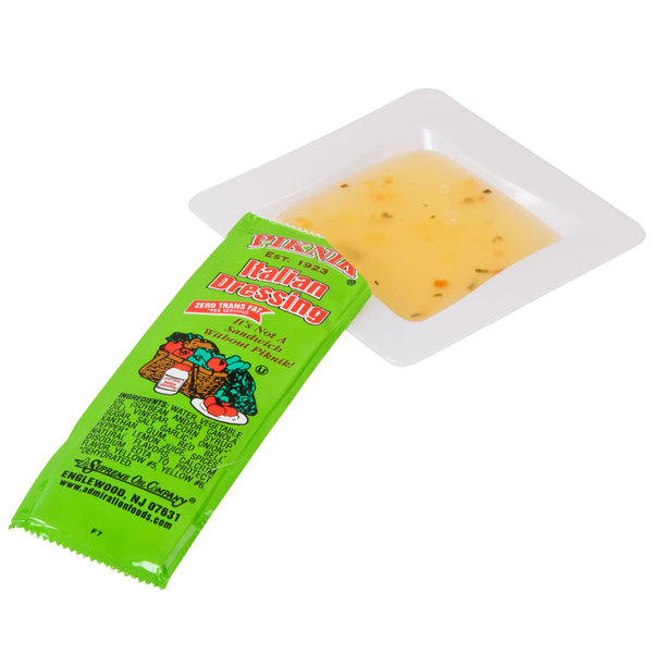 12 Gram Italian Dressing Portion Packets - 200/Case
