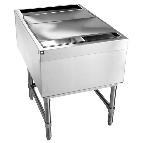 """Eagle Group B24PTIC Spec-Bar 36"""" x 24"""" Pass-Through Ice Chest"""