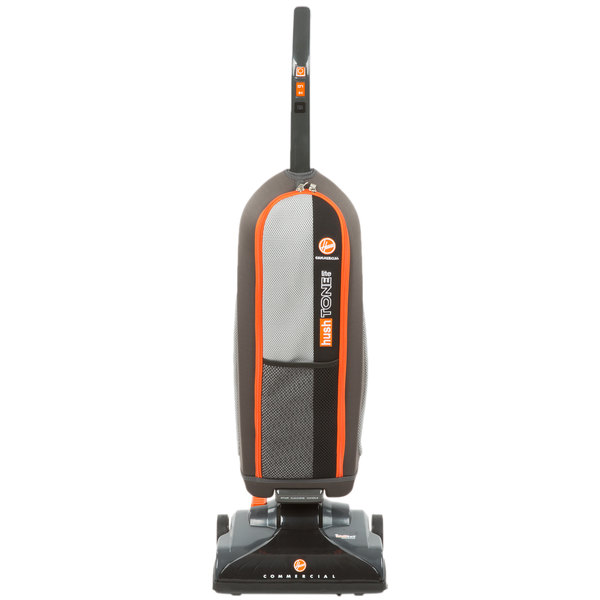 Hoover CH50400 13 1/2 inch Hush Tone Lite Commercial Bagged Upright Vacuum Cleaner