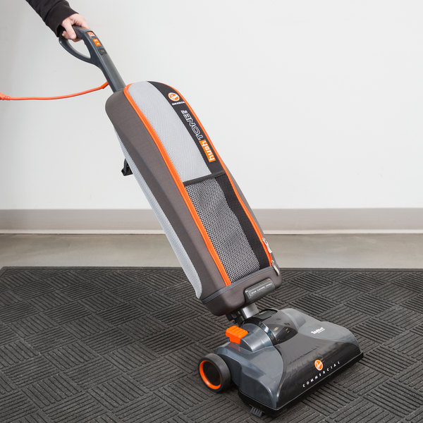 """Hoover CH50400 13 1/2"""" Hush Tone Lite Commercial Bagged Upright Vacuum Cleaner"""