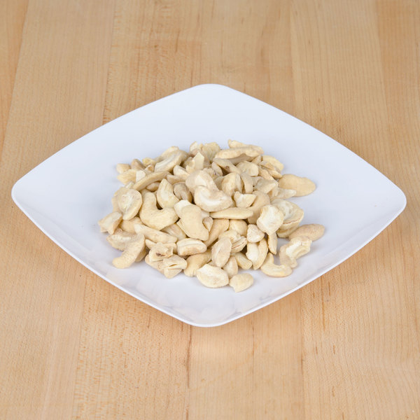 Regal Foods 5 lb. Large Raw Cashew Pieces
