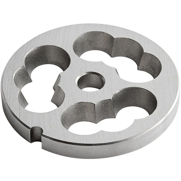 Avantco MG12PSTUF Stainless Steel Sausage Stuffing Plate Main Image 1