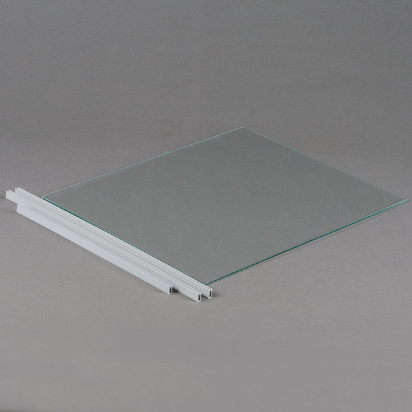 Paragon 513770 Replacement Glass Front Panel for 6133300 Simply-A-Blast Snow Cone Machine Main Image 1