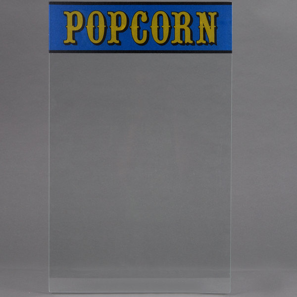 Paragon 581142 Replacement Side Glass Panel for 1911 8 oz. Popcorn Poppers Main Image 1