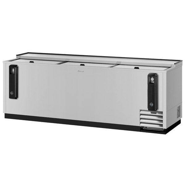 """Turbo Air TBC-95SD Super Deluxe Stainless Steel 95"""" Bottle Cooler"""