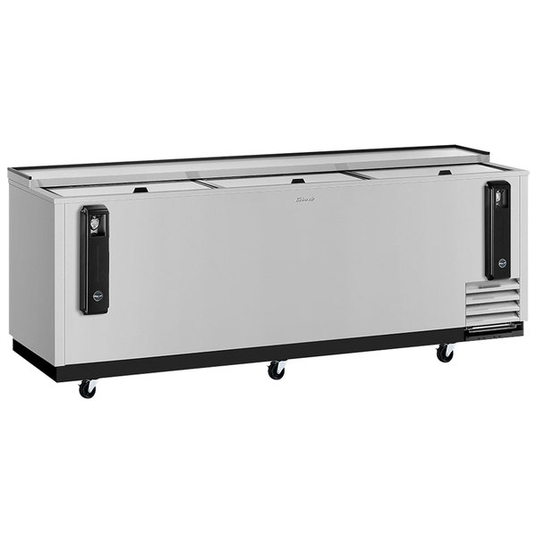 """Turbo Air TBC-95SD-N Super Deluxe Stainless Steel 95"""" Bottle Cooler Main Image 1"""