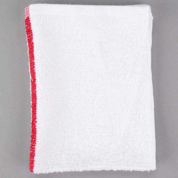 48 new large blue stripe terry shop towels restaurant towels heavy duty