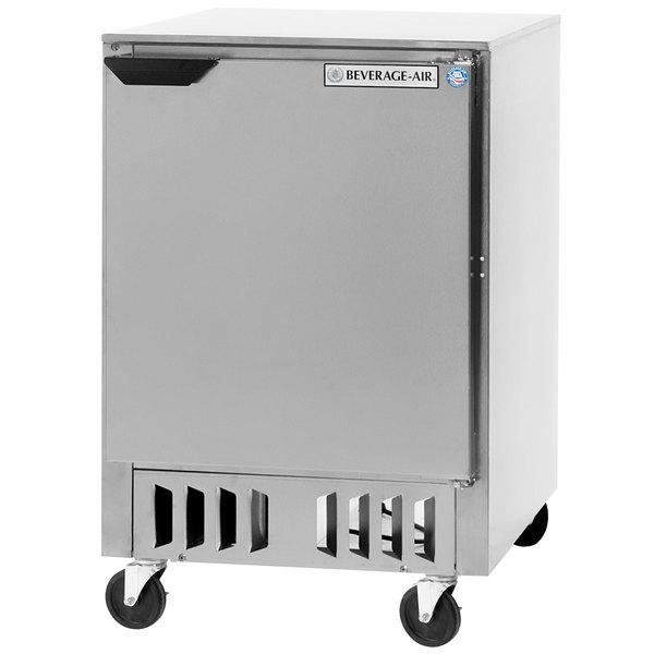 """Beverage Air WTR24AHC-FB 24"""" Undercounter Refrigerator - 5 Cu. Ft."""