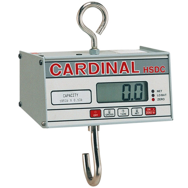 Cardinal Detecto HSDC-40 40 lb. Digital Hanging Scale, Legal for Trade