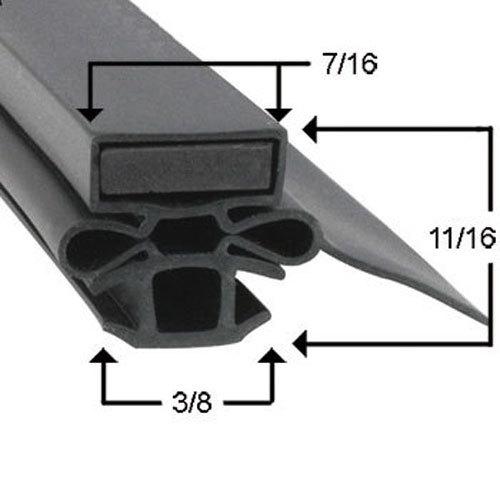 Beverage-Air Model MT12 Magentic Door Gasket