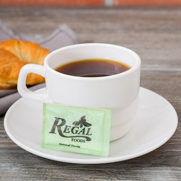 Regal Foods 1 Gram Natural Stevia Packet - 1000/Case