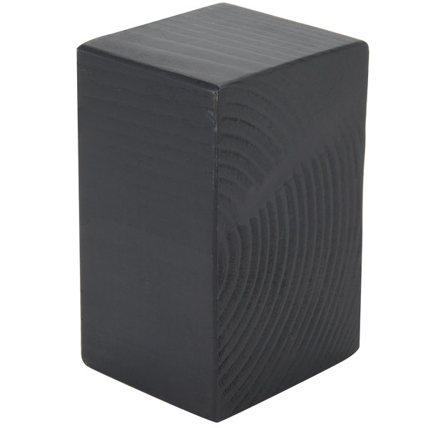 "Cal-Mil 3056-533 Charcoal Riser - 3 1/2"" x 5 1/2"" x 3"""