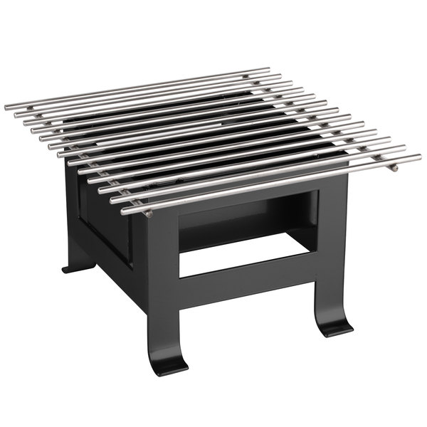 "Cal-Mil 3403-12-13 Black Soho Chafer Alternative - 12"" x 12"""
