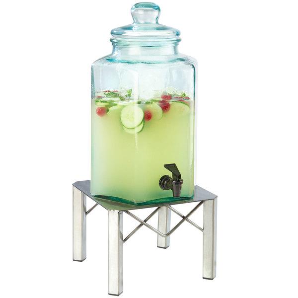 Cal-Mil 3421-2 2 Gallon Industrial Glass Beverage Dispenser Main Image 1