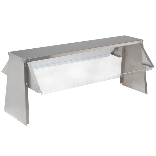 Advance Tabco TBS-2 Buffet Shelf with Sneeze Guard