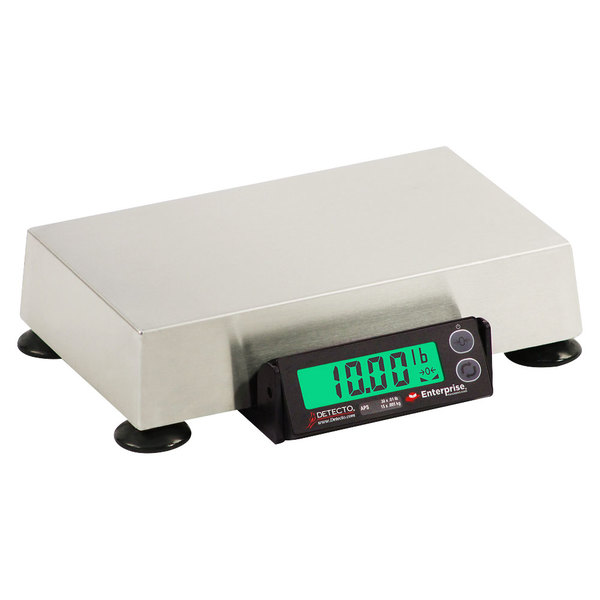 """Cardinal Detecto APS8 15 lb. Point of Sale Scale with 6"""" x 10"""" Platform, Legal for Trade"""