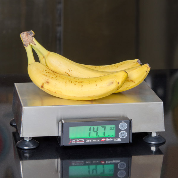 """Cardinal Detecto APS12 160 oz. Point of Sale Scale with 6"""" x 10"""" Platform, Legal for Trade"""