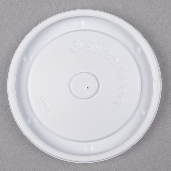 Dart Solo LVS512-0007 Bare 12 oz. Container Lid  - 1200/Case