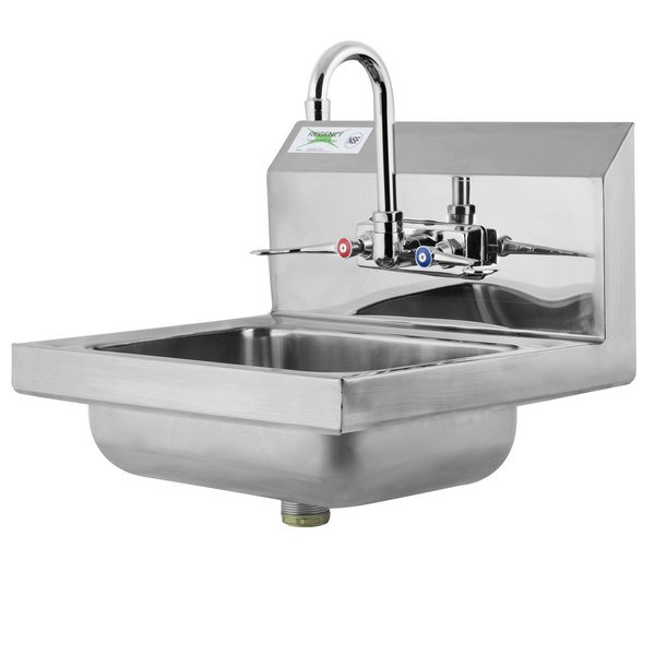Regency 17 1 4 Quot X 15 1 4 Quot Wall Mounted Hand Sink With