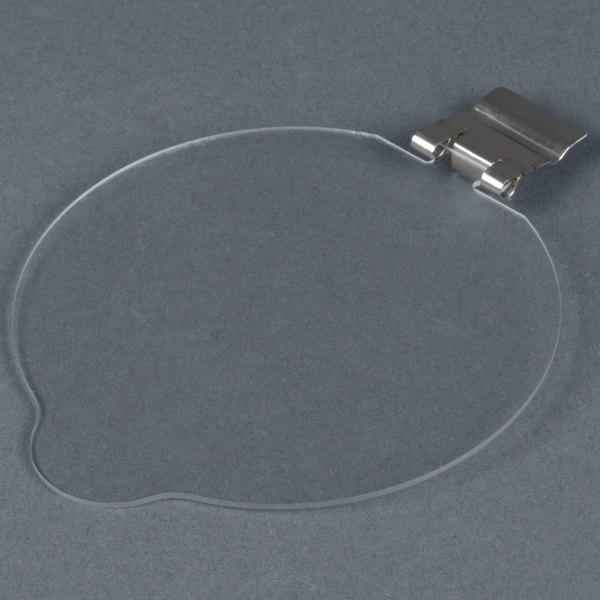 """Cal-Mil 1950-16LID Solid Lid for 16 oz. Round Melamine Jar - 4"""""""