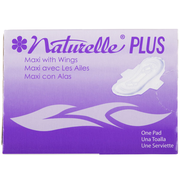 Rochester Midland RMC 25189973 NaturellePlus Maxi with Wings - 250/Case Main Image 1