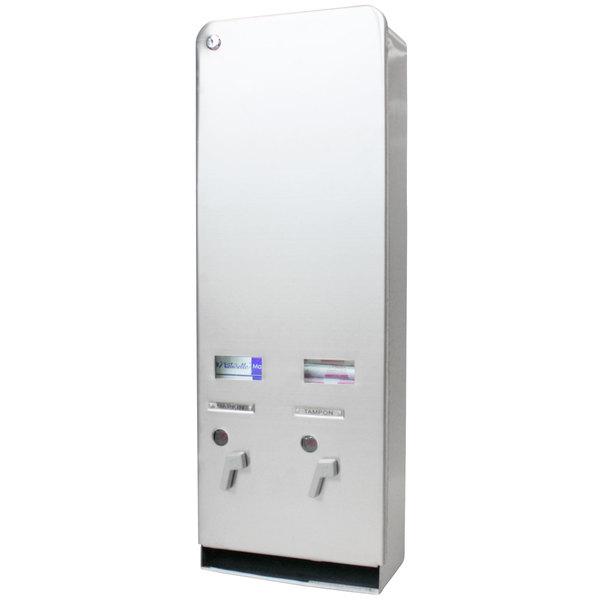 Rochester Midland RMC J6SSP 25191100 $.25 Sanitary Napkin / Tampon Dispenser