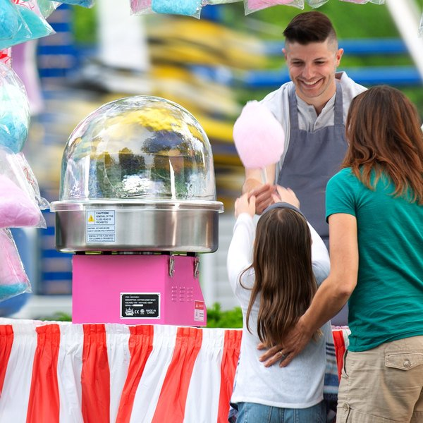 Carnival King FB21 Floss Bubble for CCM21 Cotton Candy Machine Main Image 2