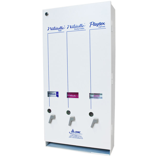 Rochester Midland RMC J10 25191200 $.25 Sanitary Napkin / Tampon Dispenser Main Image 1