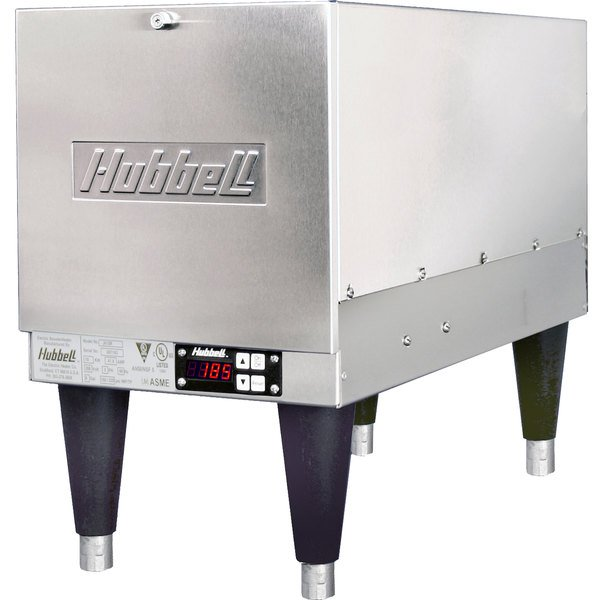 Hubbell J610T4 6 Gallon Compact Booster Heater - 10.5kW, 480V, 3 Phase Main Image 1