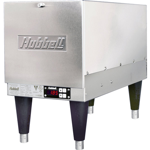 Hubbell J612T 6 Gallon Compact Booster Heater - 12kW, 240V, 3 Phase Main Image 1