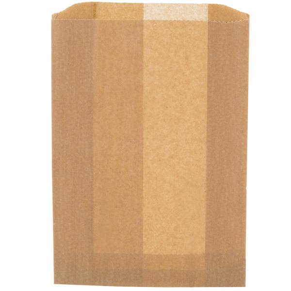 """Lavex Janitorial 7 1/2"""" x 3"""" x 10 1/2"""" Sanitary Napkin Receptacle Bags - 50/Pack Main Image 1"""